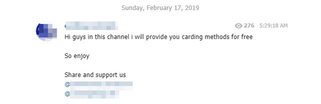 Carding Group Telegram