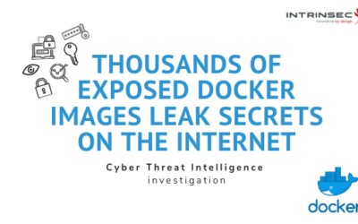 Thousands of exposed docker images leak secrets on the Internet